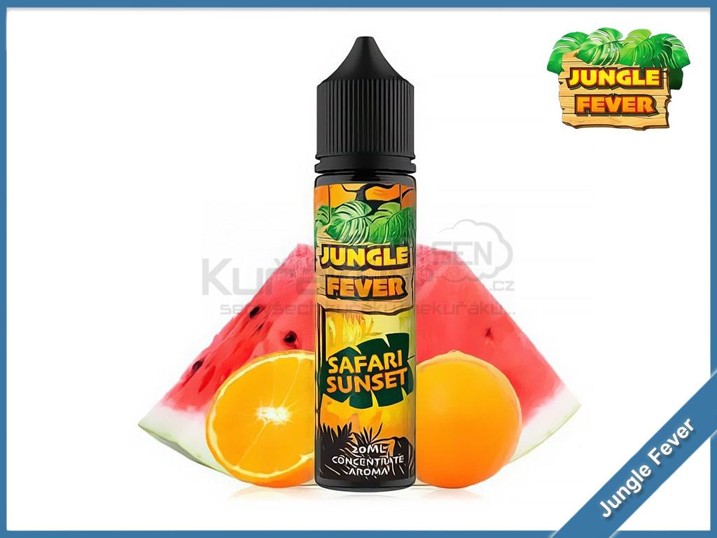 safari sunset jungle fever