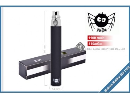 baterie eGo buibui 1100mAh black