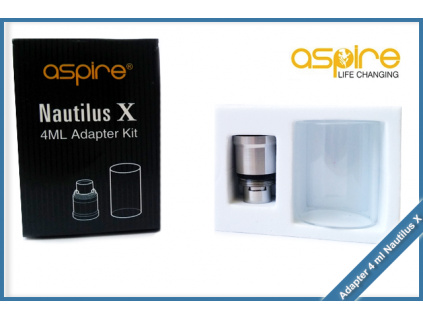 clearomizer aspire nautilus x adapter 4ml