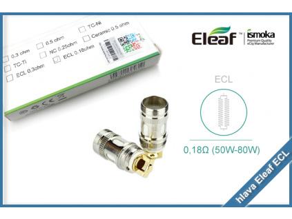 zhavici hlava eleaf ecl 0 18ohm
