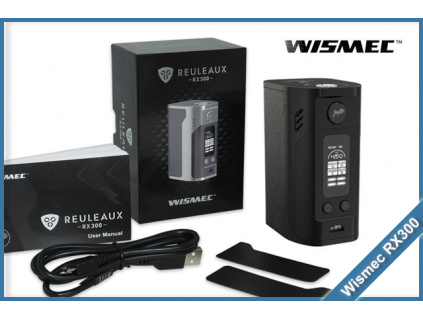 wismec rx300 tc black