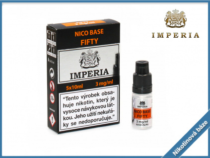 nikotinova baze imperia fifty 3mg