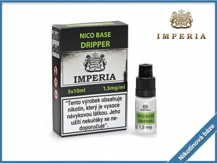nikotinova baze imperia dripper 1,5mg