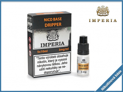 nikotinova baze imperia dripper 3mg