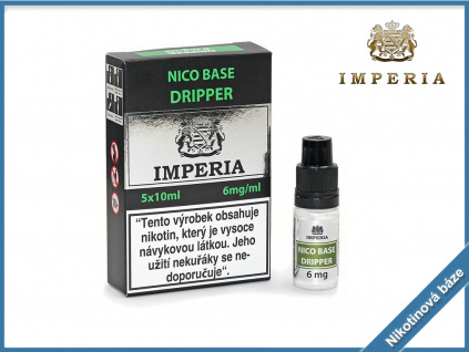 nikotinova baze imperia dripper 6mg