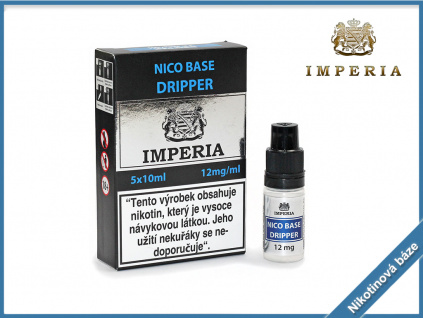 nikotinova baze imperia dripper 12mg
