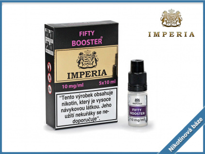 nikotinova baze imperia fifty booster 10mg