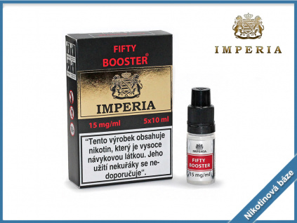 nikotinova baze imperia fifty booster 15mg