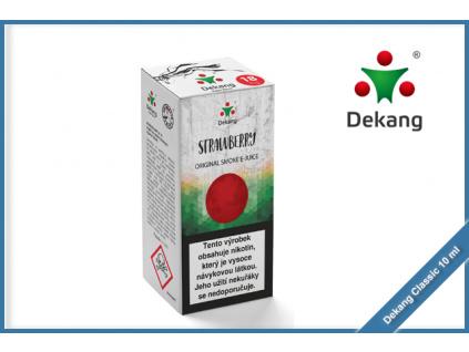 dekang classic 10ml strawberry