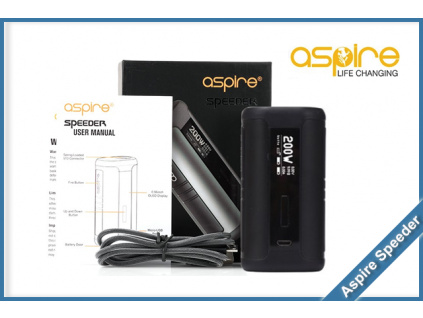 aspire speeder black
