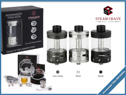 aromamizer titan steam crave