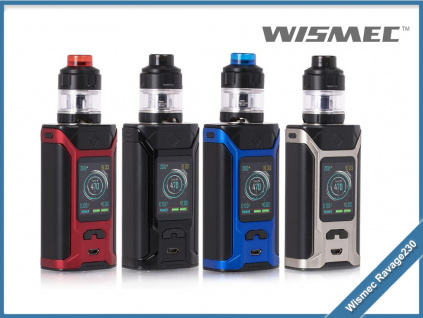 wismec sinuous ravage230 color