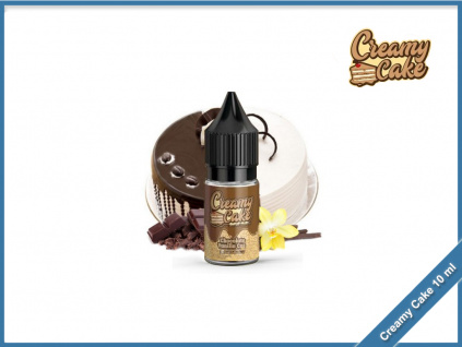 chocolate vanilla cake cream cake 10ml
