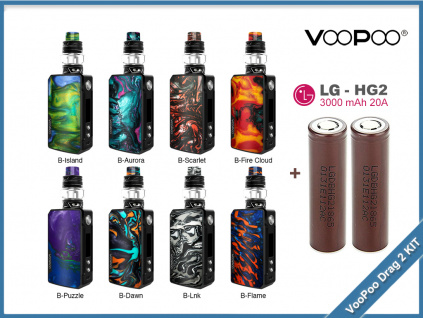 voopoo drag2 uforce t2 bat