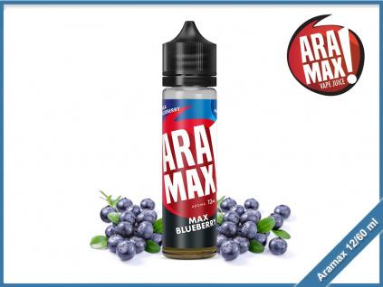 max blueberry aramax shake and vape