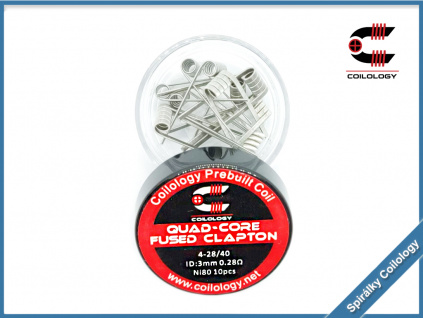 quad core fused clapton coilology ni80