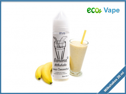 eco vape milkshakes banana milkshake v2