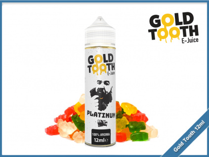 GoldTooth shake and vape 12ml aroma platinum