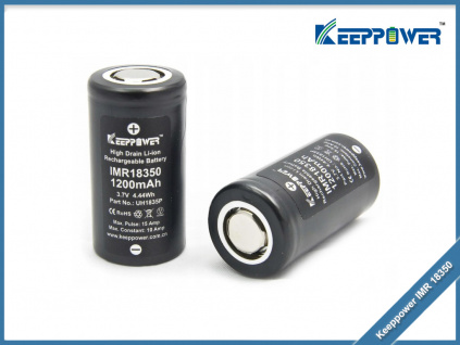 baterie Keeppower IMR 18350 1200mah