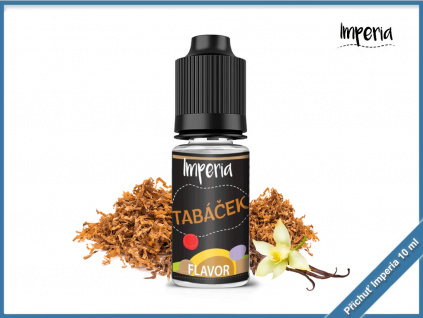 tabáček imperia black label 10ml