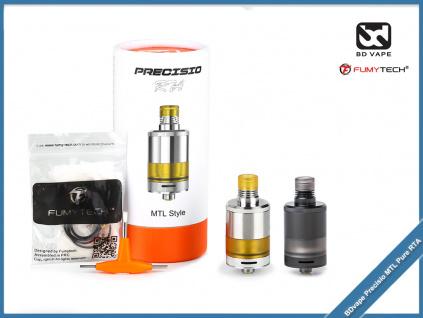 BDvape fumytech Precisio MTL DLC Pure RTA color