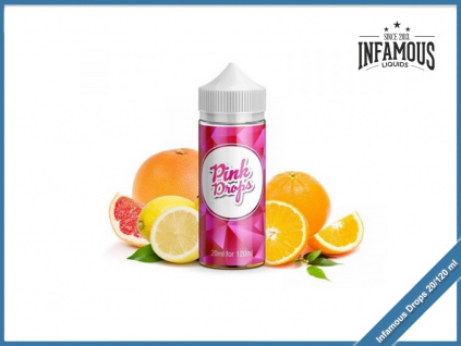 Infamous drops pink