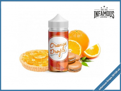 Infamous drops orange