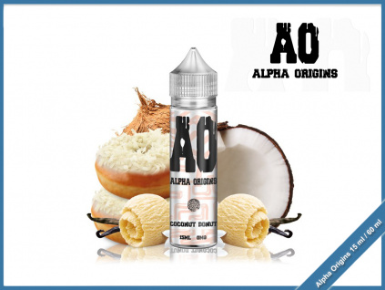 alpha origins coconut donut