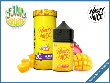 cush man yummy fruity nasty juice