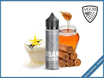 vgod berry cubano silver