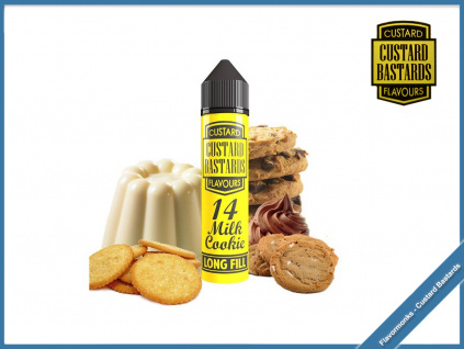 Flavormonks Custard Bastards No14 milk cookie