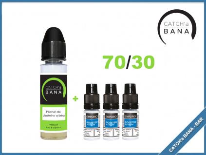 Vlastní recept CATCH'a BANA - S&V příchuť + 3x Booster 70/30 10 ml 20 mg