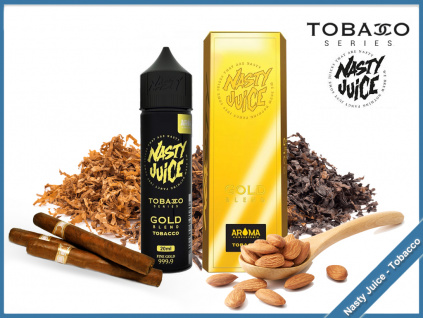 gold nasty juice tobacco series