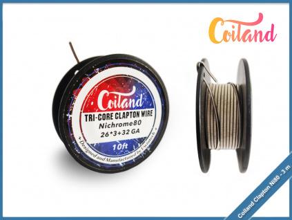 coiland tri core clapton wire ni80