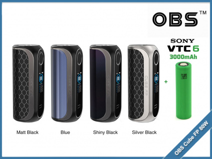 OBS Cube FP 80W baterie sony vtc6