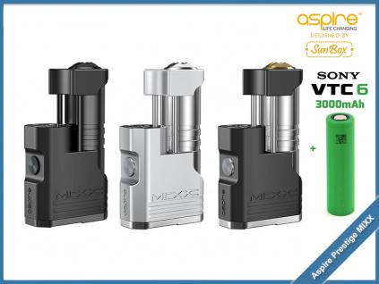 Aspire Prestige MIXX sony vtc6
