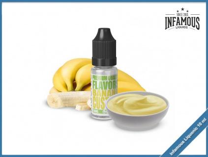 Banana Custard Infamous Liqonic