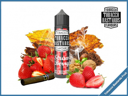 strawberry tobacco Flavormonks Tobacco Bastards