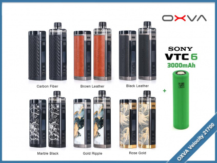 oxva velocity 21700 baterie
