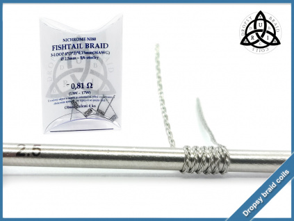 3 loop Fishtail braid 6 081 ni80