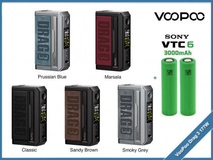 voopoo drag 3 baterie
