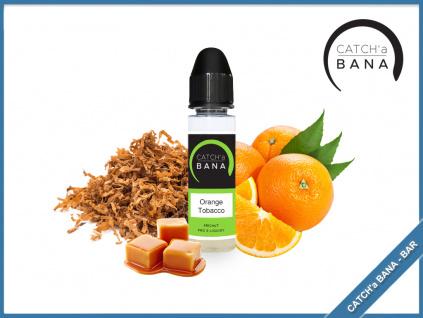 Orange tobacco catcha bana bar