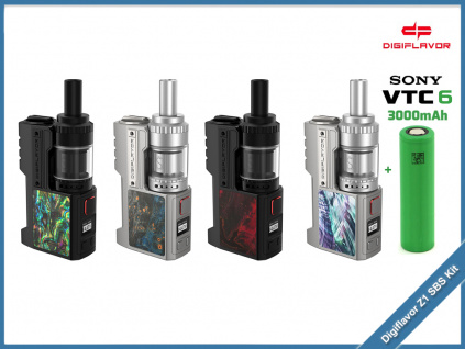 Digiflavor Z1 SBS Kit Siren 3 GTA baterie