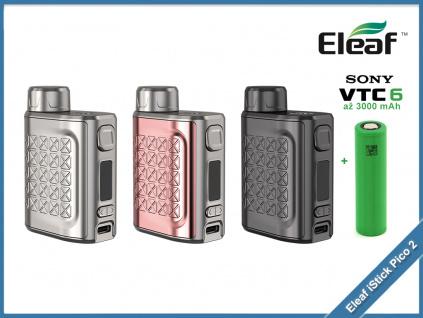 eleaf istick pico 2 75W tc baterie