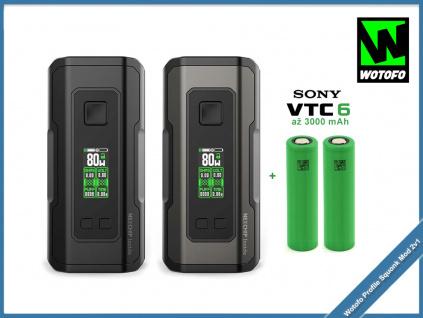 Wotofo Profile Squonk Mod 2v1 baterie