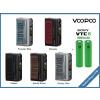 Elektronický box mod VooPoo Drag 3 177W + 2x Sony VTC6 3000 mAh