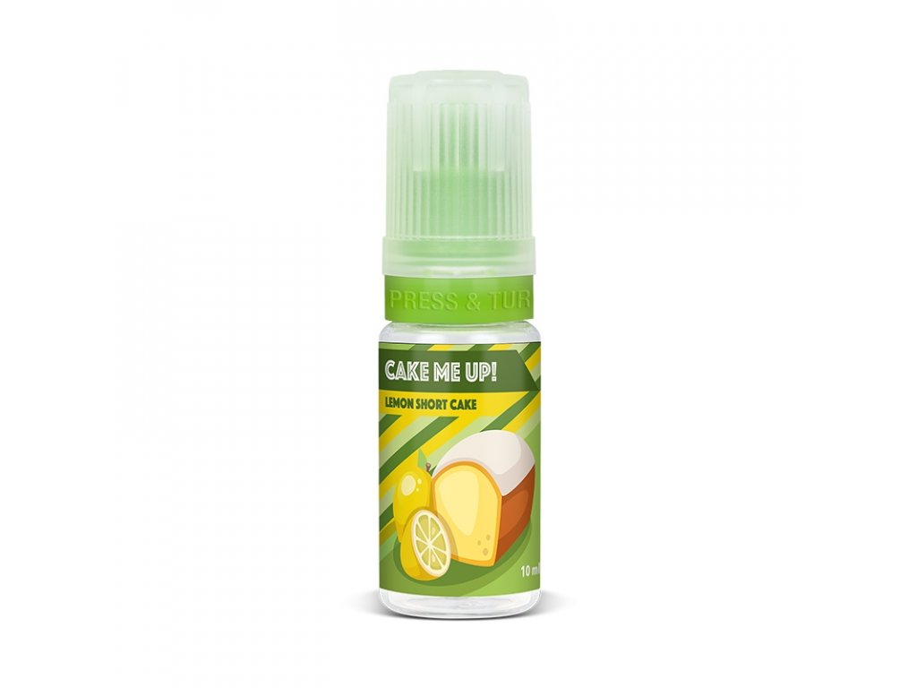 Cake Me Up - Lemon Short Cake 10ml (Graham, Citrón, Krém)