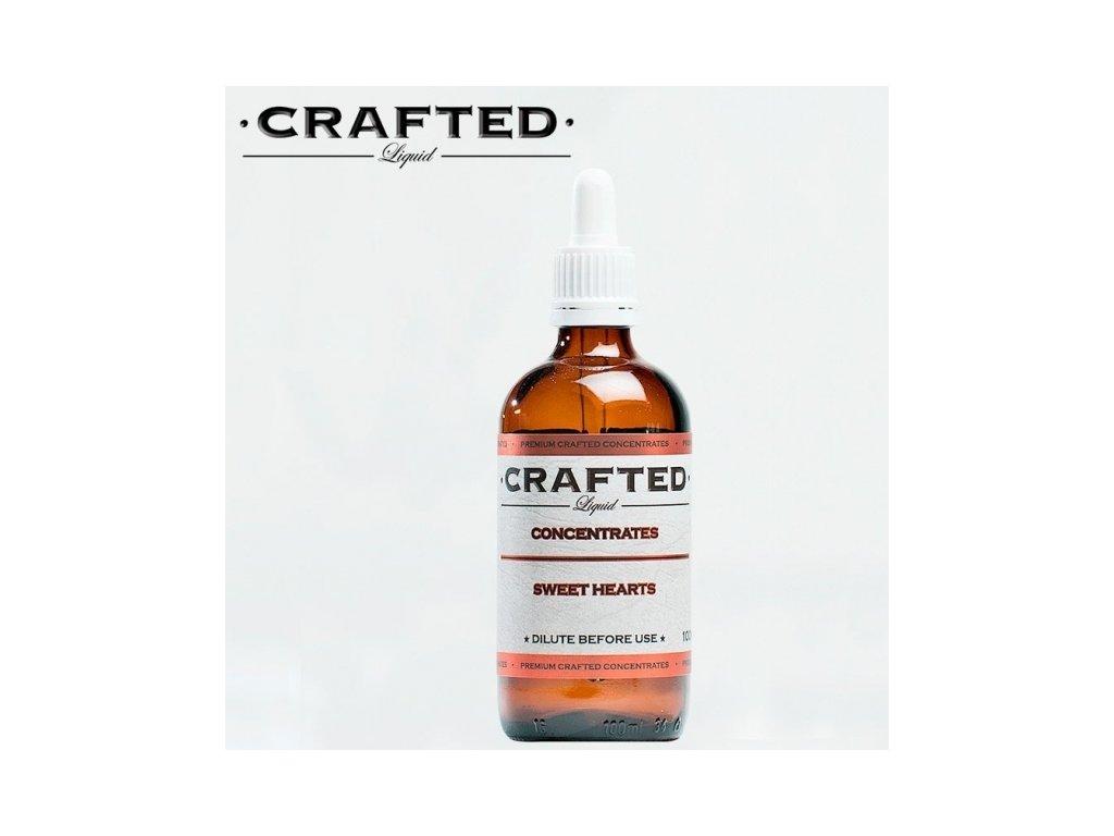 Crafted Sweet Hearts (Vafle, Zmrzlina Vanilka a Jahodový džem) Aroma