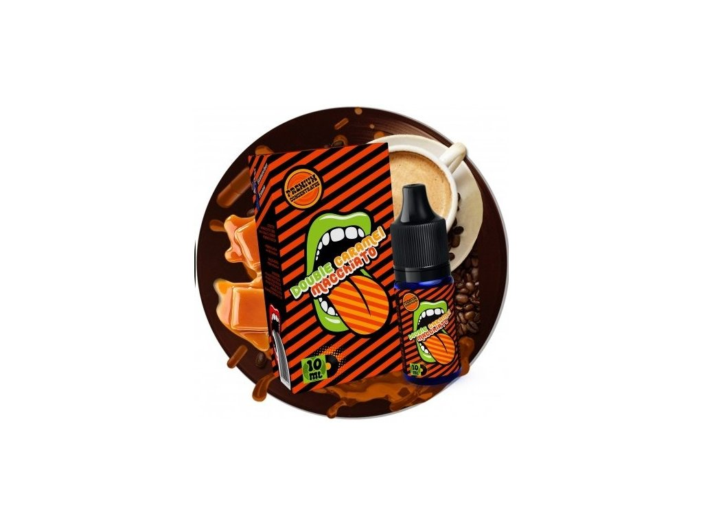 Big Mouth - Classical - Double Caramel Macchiato (Macchiato, Karamel) Aroma