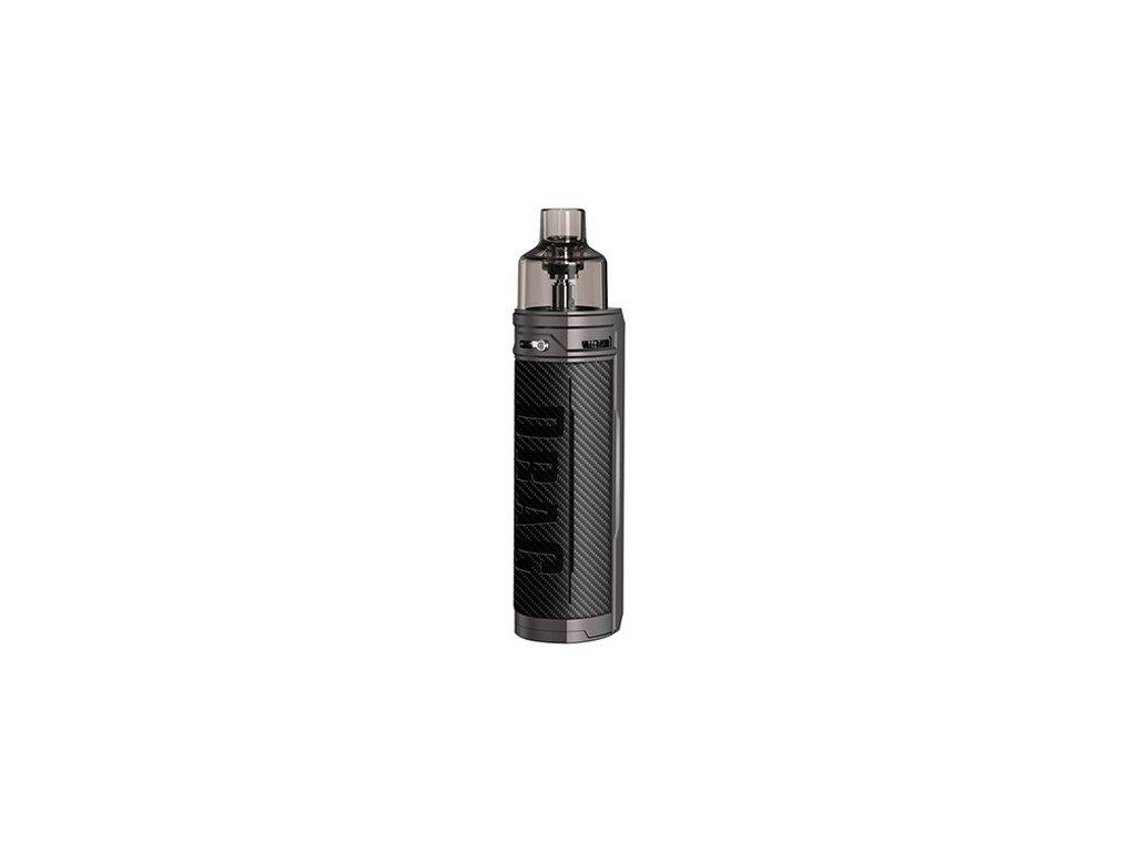 voopoo drag x mod pod 80w grip carbon fiber
